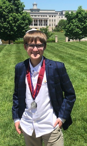 Bornblum Student Receives State Recognition from DukeTIP