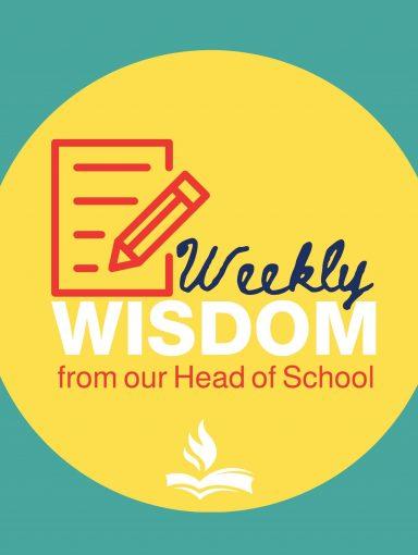 Weekly Wisdoom